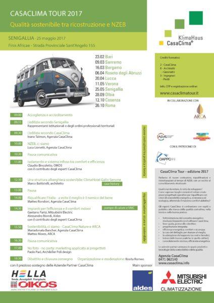 Casaclima tour 2017 senigallia 25 05 2017 tra i relatori for Casaclima 2017