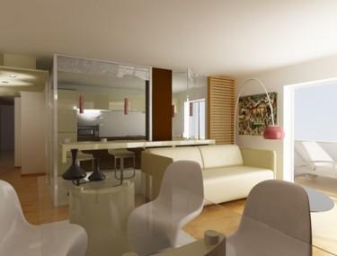 Battistelli roccheggiani architetti progetto d 39 interni unit immobiliare ubicata in via - Architetti d interni milano ...